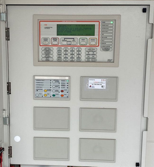 Fire Services Control Panel